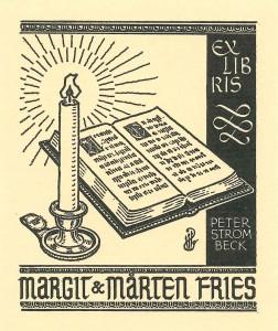 Exl Margit och Mårten Fries