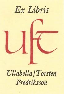 Exl Ullabella o Torsten Fredriksson